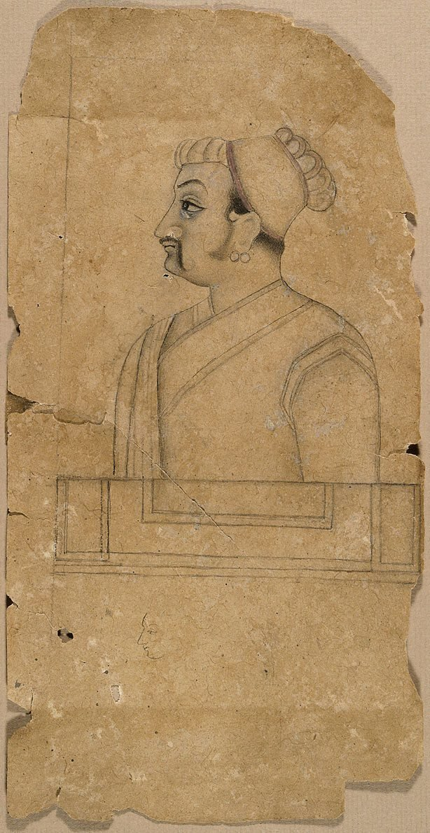 An image of Drawing of a nobleman