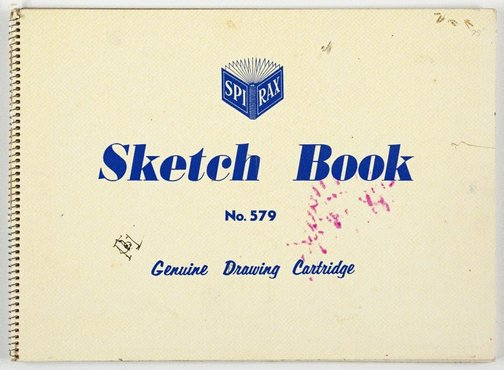 An image of Sketchbook by Roger Kemp