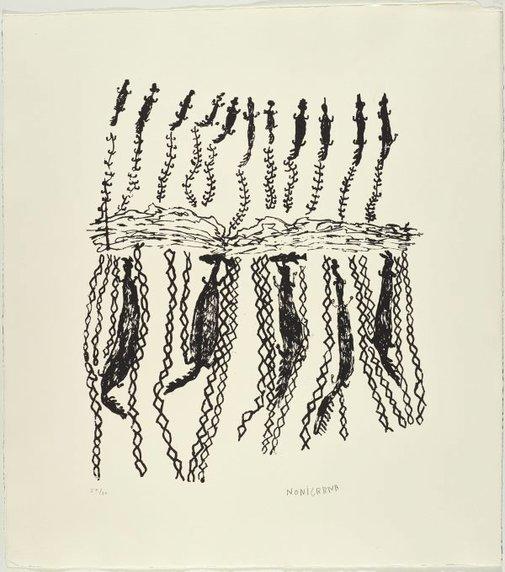 An image of Baru by Noŋgirrŋa Marawili