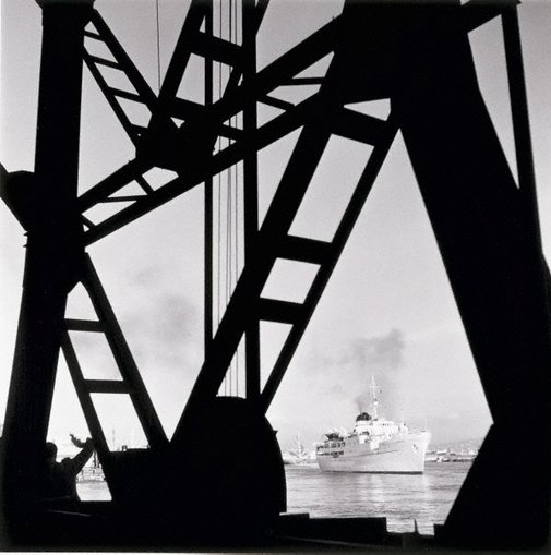 An image of Ship departure, Naples by David Moore
