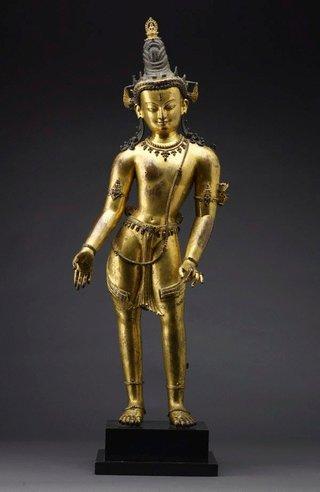 AGNSW collection Padmapani (circa 13th century) 117.2010