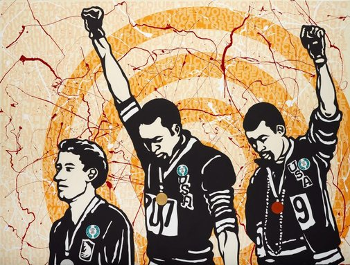 An image of We Can Be Heroes by Richard Bell, Emory Douglas