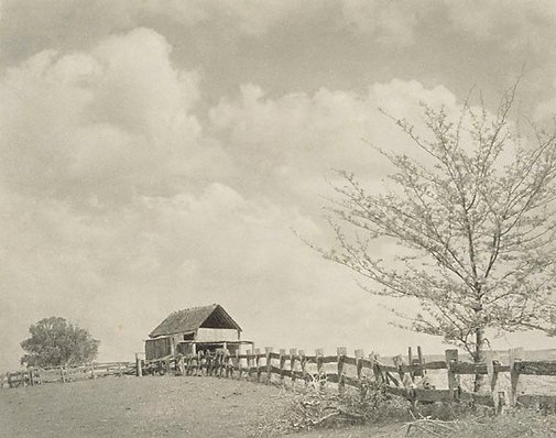 An image of Spring skies by Richard V Simpson
