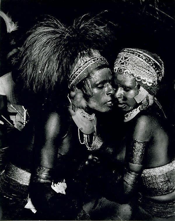 An image of Natives, Kanana ceremony, New Guinea