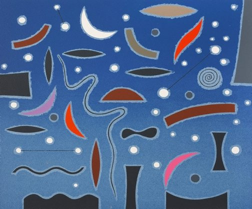 An image of Starry night by John Coburn