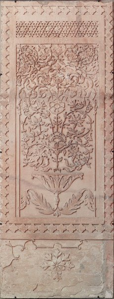 An image of Panel with tree of life motif by