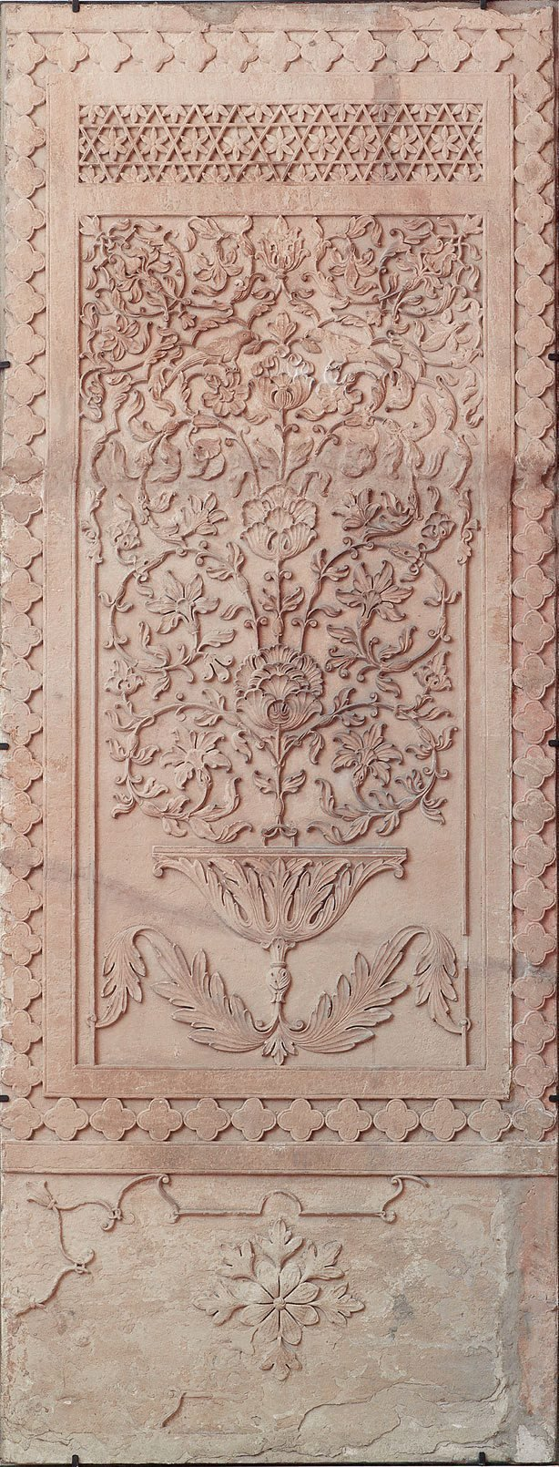 An image of Panel with tree of life motif