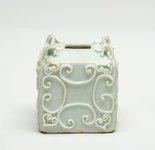 Alternate image of Jar of cuboid form by Jingdezhen ware