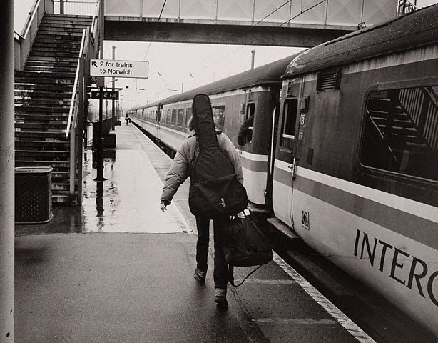 An image of Beth Orton, musician, Diss station, Norfolk, England