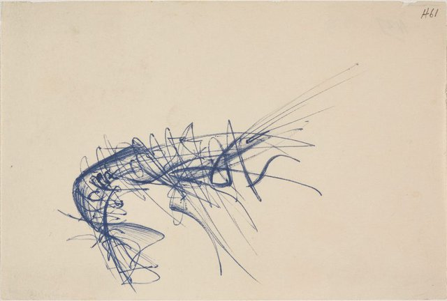 An image of (Abstract study of a lobster)