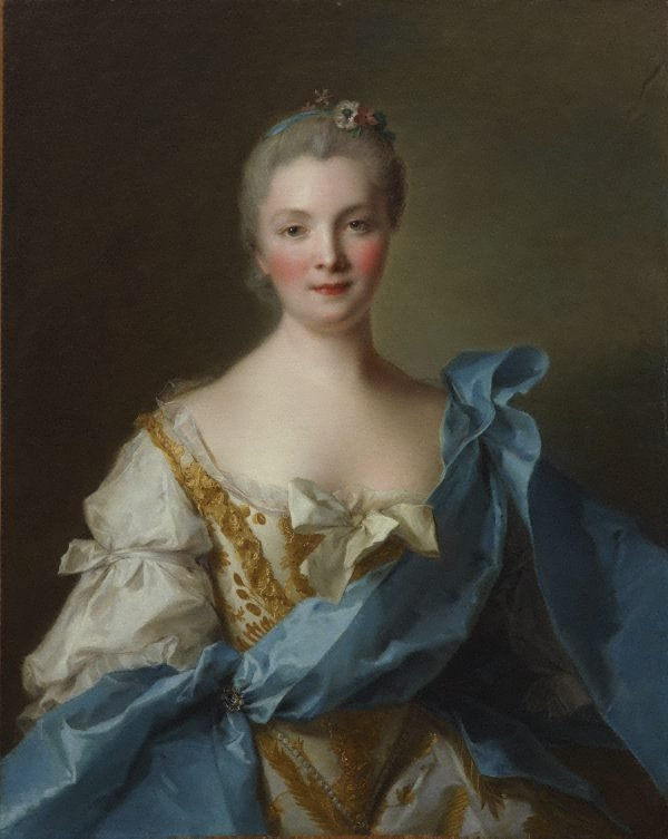 Madame de La Porte, (1754) by Jean-Marc Nattier