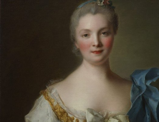 Alternate image of Madame de La Porte by Jean-Marc Nattier