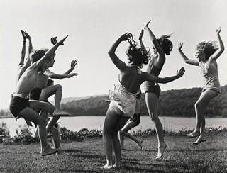 AGNSW collection Barbara Morgan Children dancing by the lake 1940