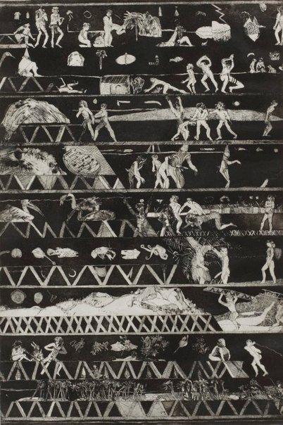An image of Bridge night by Ron McBurnie
