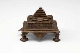 AGNSW collection Kali Yantra 19th century