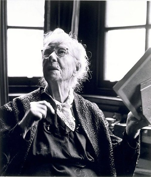 An image of Dame Mary Gilmore by Max Dupain