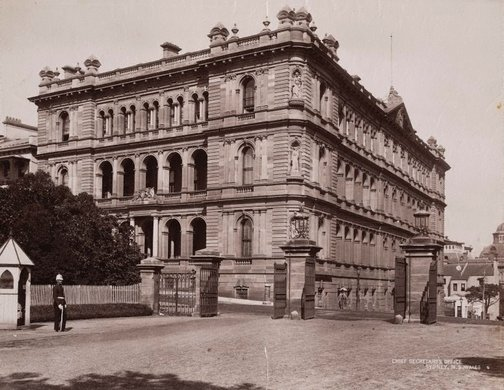 An image of Chief Secretary's Office, Sydney by Unknown, NSW Government Printer