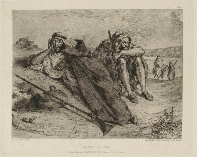 An image of Arabs of Oran