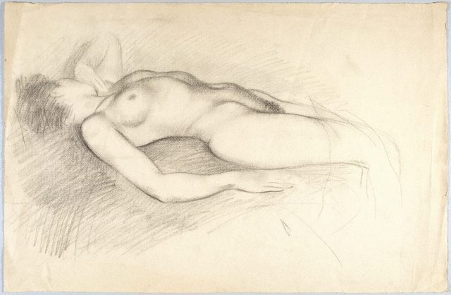 An image of (Reclining female nude)