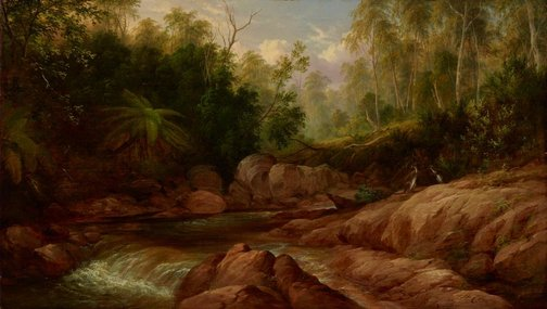 An image of Creek scene, Tilba Tilba by JH Carse