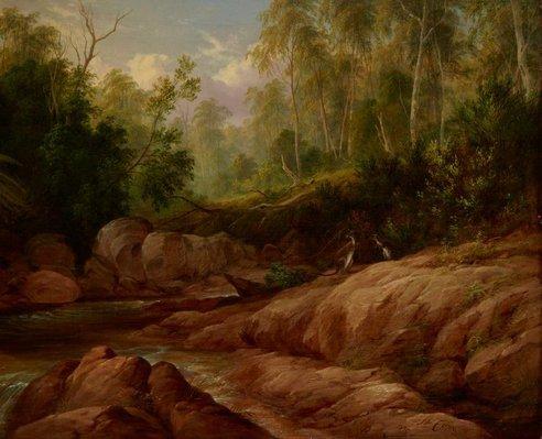 Alternate image of Creek scene, Tilba Tilba by JH Carse