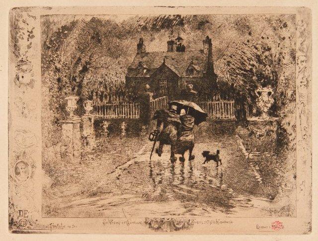 An image of Les voisins de campagne