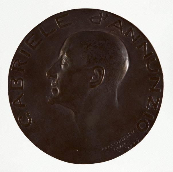 An image of Gabriele d'Annunzio