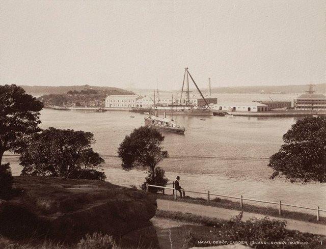 An image of Naval depot, Garden Island Sydney Harbour