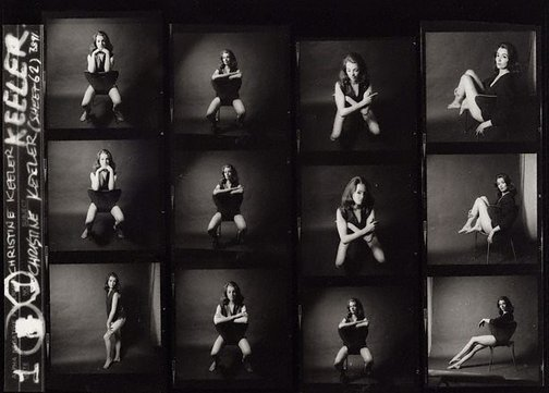 An image of Christine Keeler by Lewis Morley