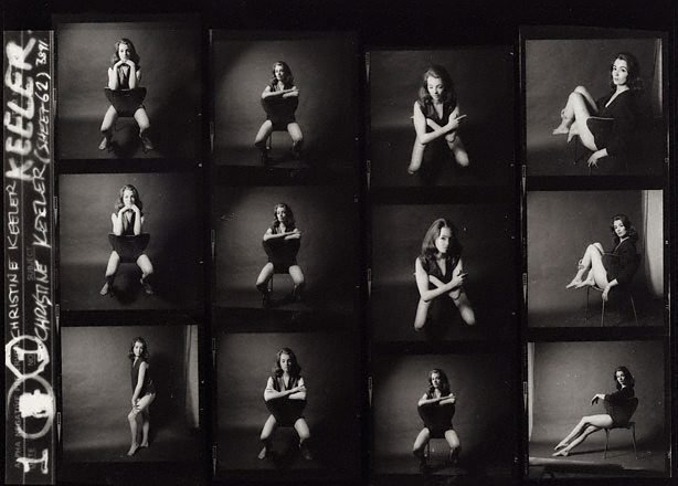 AGNSW collection Lewis Morley Christine Keeler (1963, printed later) 121.2007