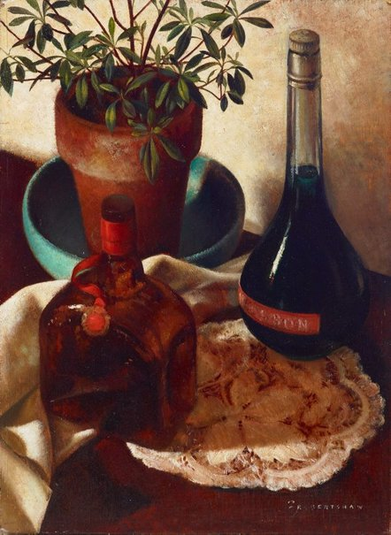 An image of Studio still life by Freda Robertshaw