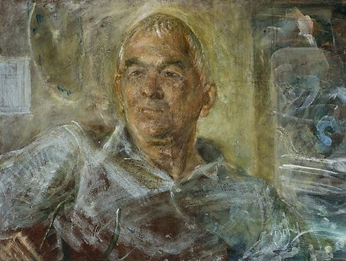 An image of Portrait of Hal Missingham by William Dobell
