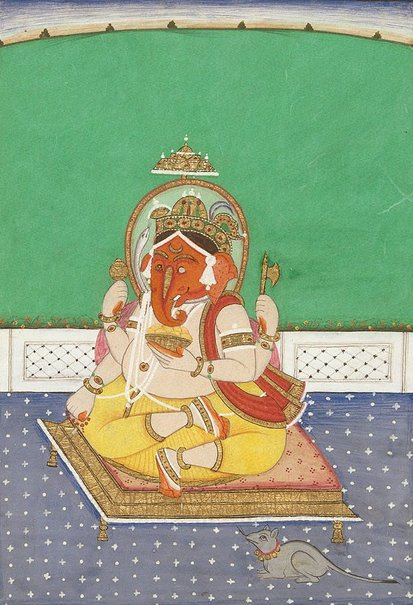 An image of Ganesha by