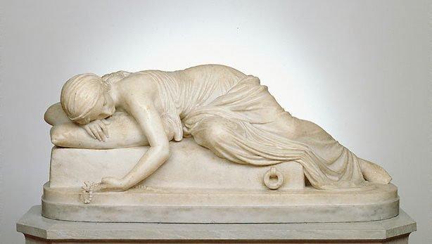 Beatrice Cenci, (1857) by Harriet Hosmer