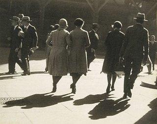 AGNSW collection Henri Mallard Pedestrians (circa 1930s) 123.1996