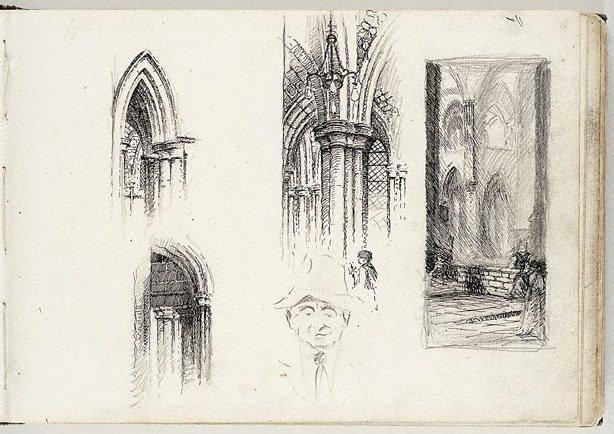 An image of Sketchbook no. 1: Brisbane c.1914