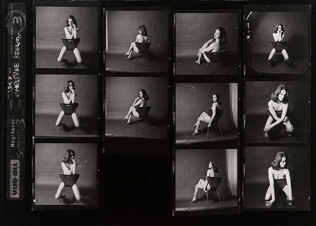 AGNSW collection Lewis Morley Christine Keeler (1963, printed later) 123.2007