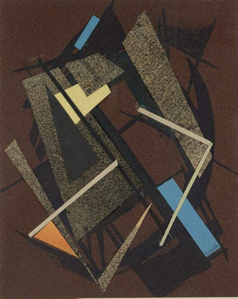 An image of Brown construction - study by Frank Hinder