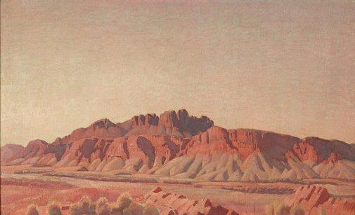 An image of Mount Liebig by Arthur Murch