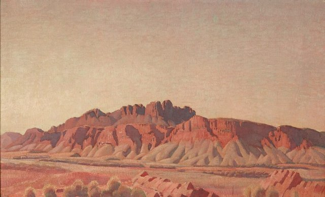 An image of Mount Liebig