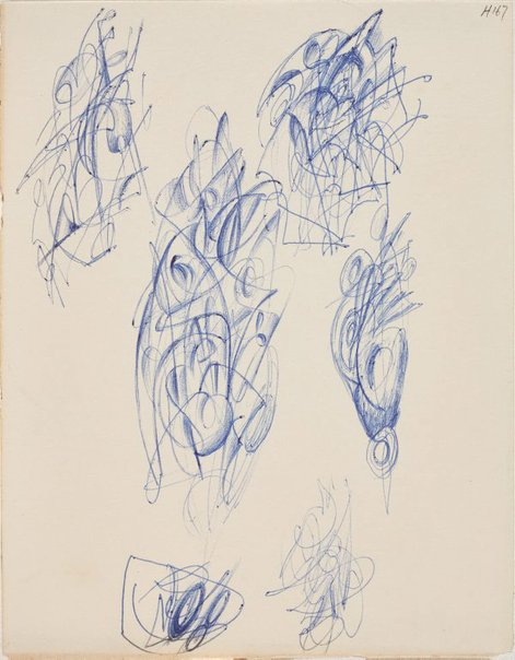 An image of (Abstract studies) by William Dobell