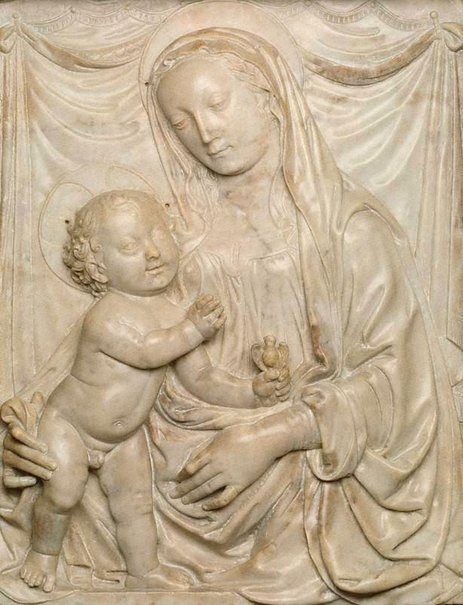 An image of Madonna and Child by Francesco di Simone Ferrucci
