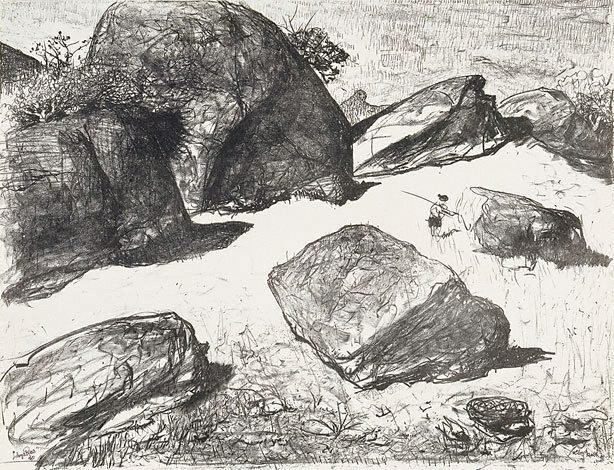An image of Boulders at Werri Beach I