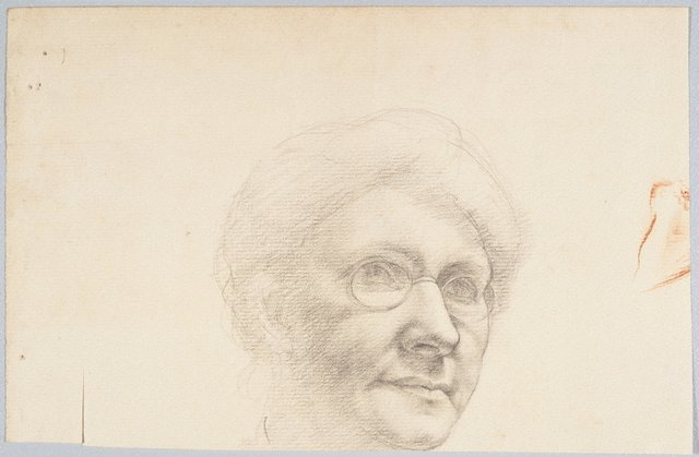 An image of (Head of a woman)