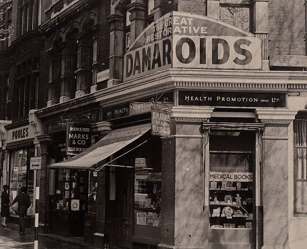 An image of Corner no 84 Charing Cross Rd, London