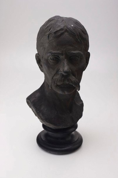 An image of Portrait bust by Annie Dobson