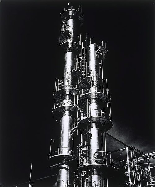 An image of Shell refinery, Geelong by Henry Talbot