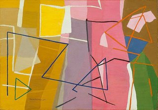 Abstract, (1953) by Grace Crowley