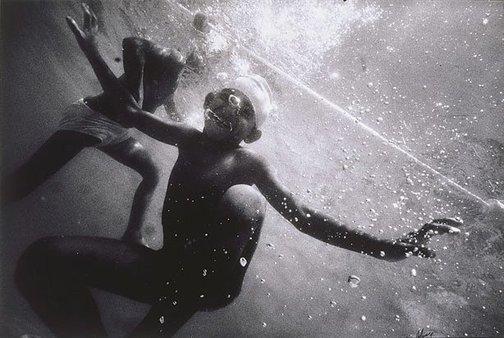 """An image of """"Nahian Hossain"""" Infant school swim, March 1991, West End School, Brisbane by Craig Holmes"""