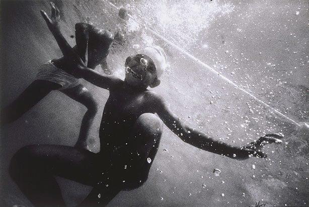"An image of ""Nahian Hossain"" Infant school swim, March 1991, West End School, Brisbane"
